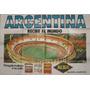 Publicidad Afiche Alba Estadio Monumental 78