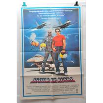 Aguila De Acero Pelicula Afiche Cine Original 70
