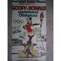 Goofy Y Donald 1110 Disney Afiche De 1.10 X 0.75