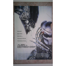Aliens Vs Depredador 0350 Afiche De 1 X 0.70