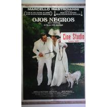 Ojos Negros 0219 M. Mastroianni Afiche De 1.10 X 0.75