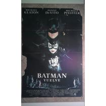 Batman Vuelve 0468 Keaton De Vito Pfeiffer 1 X 0.70