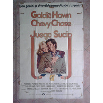 Juego Sucio 1985 Chevy Chase Goldie Hawn 1.10 X 0.75
