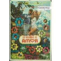Afiche Las Vacaciones Del Amor Graciela Alfano 1981
