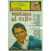 Afiche Una Ventana Al Éxito Juan Ramon, Antonio Barros 1966