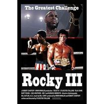 Carteles Antiguos Chapa Poster 60x40cm Rocky 3 Balboa Fi-011