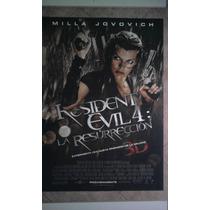 Resident Evil 4 0426 M. Jovovich Afiche De 1 X 0.70