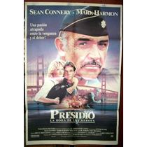 Sean Connery ! Afiche Cine Orig 1988 Presidio Meg Ryan N317