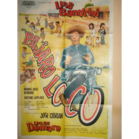 Poster Pelicula * Pajaro Loco * Luis Sandrini -1971 Original