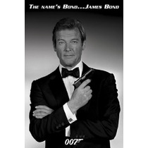 My Name Is Bond, James Bond, Roger Moore - Poster De 90 X 60