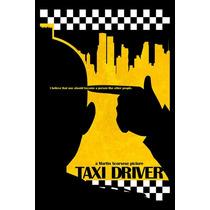 Carteles Antiguos Poster Gruesa 60x40cm Taxi Driver Fi-063