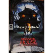 Poster Cine La Casa De Los Sustos 100 X 70 Afiche Pelicula