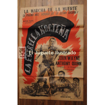 La Estrella Norteña 1943 Anthony Quinn Antiguo Afiche Cine