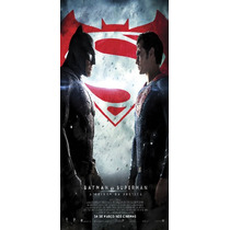 Batman Vs Superman - Afiche De Cine - 2 Metros X 1 Metro