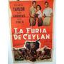 Afiche De Cine - La Furia De Ceylan