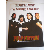 Imperdible Poster Pelicula De Pulp Fiction