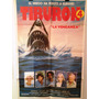Antiguo Afiche De Cine Original - Tiburon 4 - La Venganza
