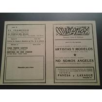 Artistas Y Modelos Lewis Martin Programa Original Dec.50
