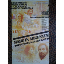 Made In Argentina 2465 Brandoni Bianchi 1.10 X 0.75