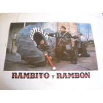 Imperdible Poster Original Pelicula De Rambito Y Rambon