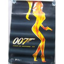 Poster Cine 007 El Mundo No Basta