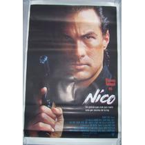 Poster Cine Nico 1988 Original Para Coleccionar Imperdible!!