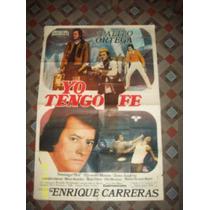 Afiche Yo Tengo Fe - Palito Ortega