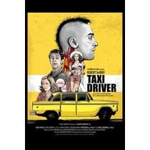 Carteles Antiguos Poster Gruesa 60x40cm Taxi Driver Fi-062