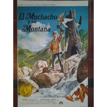 El Muchacho Y Su Montaña 2755 Afiche De 1 X 0.70