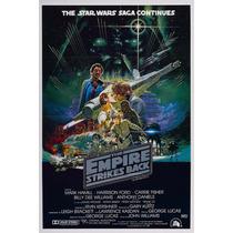 Poster De Lona Vinilica - Star Wars V Empire Strikes Back