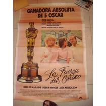 Afiche Orig De Cine 75x1,10 36 La Fuerza Del Cariño.