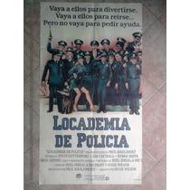 Locademia De Policia 1788 Afiche De 1.10 X 0.75