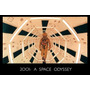 Cartel Antiguo Poster 60x40cm 2001 Odisea El Espacio Fi-092