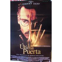 Poster La Ultima Puerta Con Jonny Deep