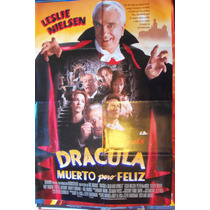 Poster Dracula Muerto Pero Feliz Con Leslie Nielsen