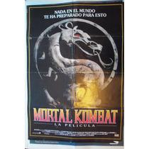 Poster Mortal Kombat La Pelicula