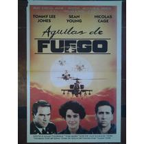 Aguilas De Fuego 2732 T L Jones N Cage Afiche De 1.10 X 0.75
