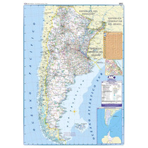 Mapa Rutero Argentina Simple Faz! Portable