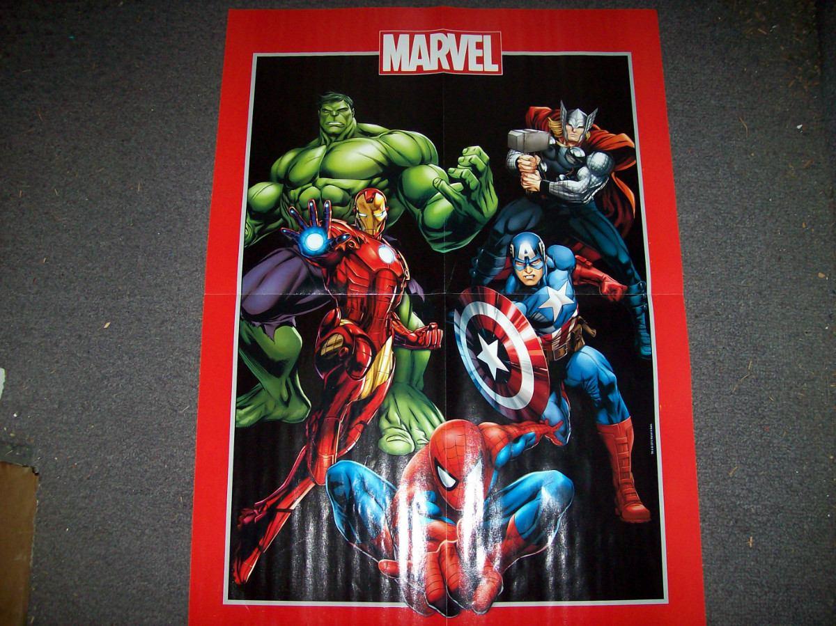 Marvel superhero posters the image kid - Poster super heros ...