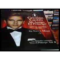 Poster Promo Christian Castro Mi Amigo El Principe No Cd Dvd
