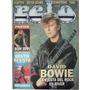 Revista Pelo Nº 377, David Bowie Y Poster De Bon Jovi
