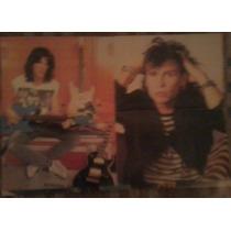 Aerosmith Poster Despegable De La Revista Generacion X