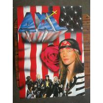 Poster Reproduccion De Musica Axl Roses Guns N Roses