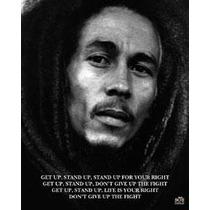 Poster Importado De Bob Marley - Get Up - 50 X 40 Cm