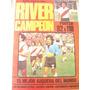 Revista Poster River Campeón 1979. Muy Buen Estado