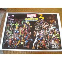 Imperdible Poster Original Video Juego Marvel Vs Capcom