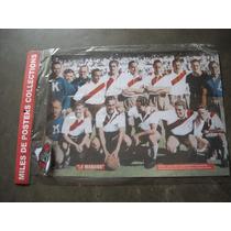 Imperdible Oferta Poster Mas Parche Futbol River Plate