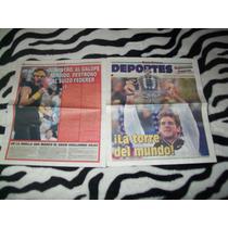 Recuerdo Del Potro Campeón Us Open Suple + Poster 2009
