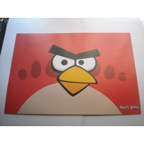 Imperdible Poster Original Video Juego Angry Birds Red Bird