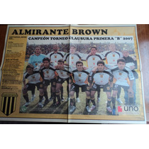Poster Almirante Brown - 2007